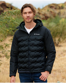 Grand Trek Hooded Down Jacket-Columbia-Pacific Brandwear