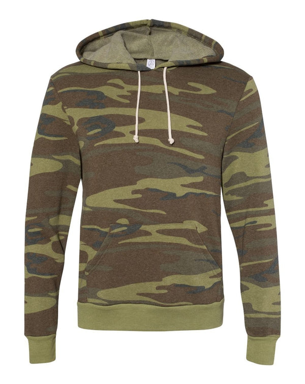 Challenger Eco-Fleece Hooded SweatShirt-Alternative Apparel-Pacific Brandwear