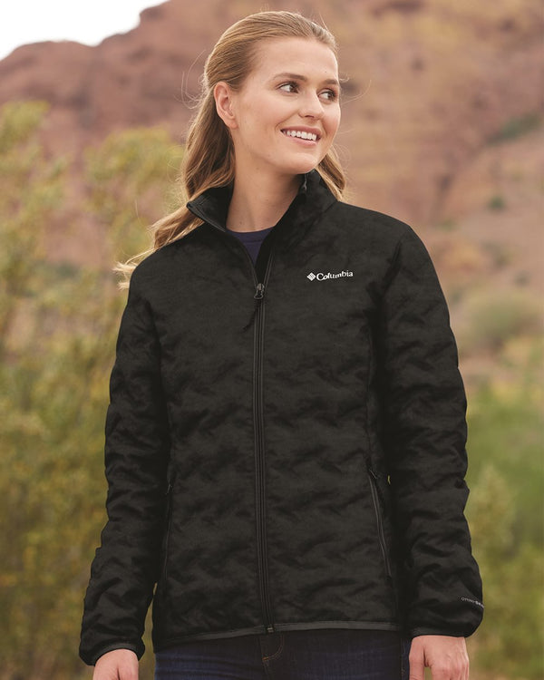 Women's Delta Ridge Down Jacket-Columbia-Pacific Brandwear