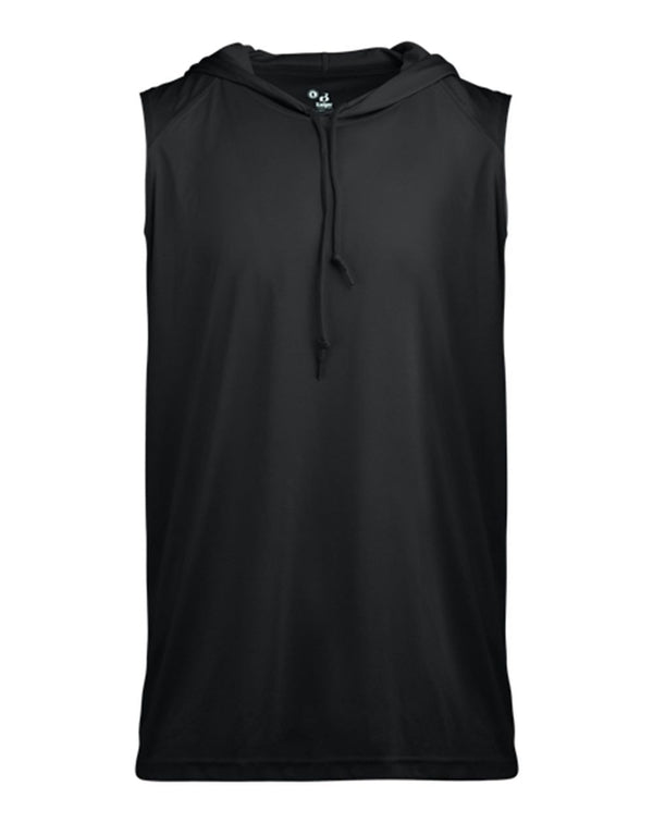 B-Core sleeveless Hooded T-Shirt-Badger-Pacific Brandwear