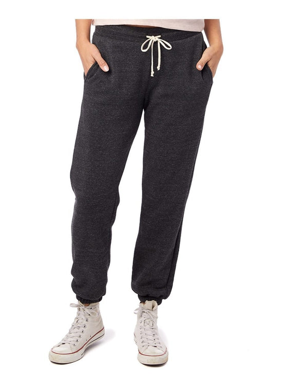 Women's Eco Fleece Classic Sweatpants-Alternative Apparel-Pacific Brandwear