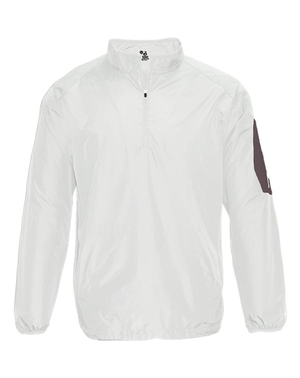 Youth Sideline Long sleeve Pullover-Badger-Pacific Brandwear