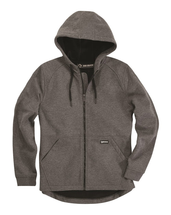 DRI DUCK Women's Parker Hooded Full-Zip-DRI DUCK-Pacific Brandwear