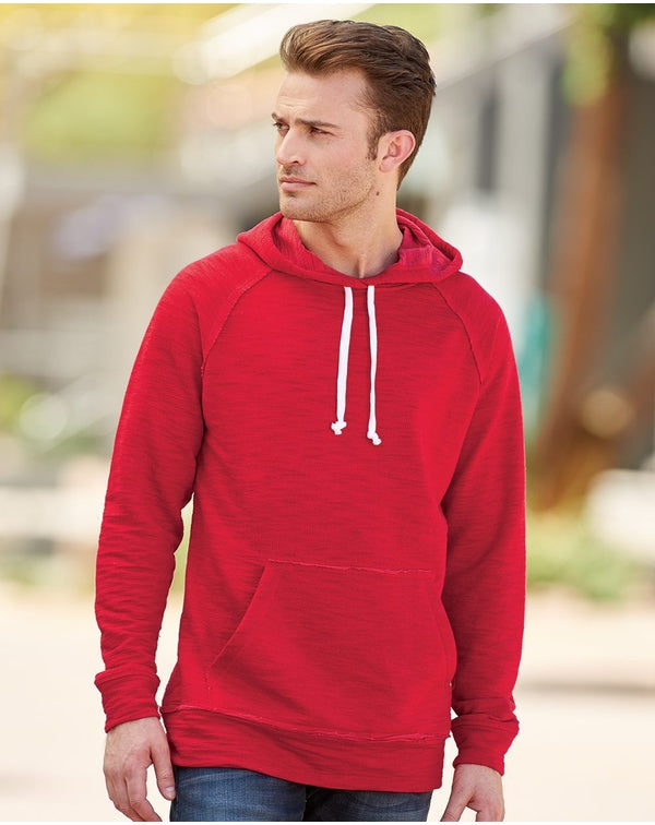 Shore French Terry Hooded Pullover-J. America-Pacific Brandwear