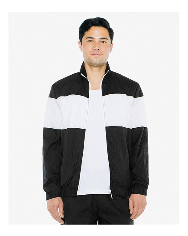 Unisex Crinkle Nylon Team Jacket-American Apparel-Pacific Brandwear
