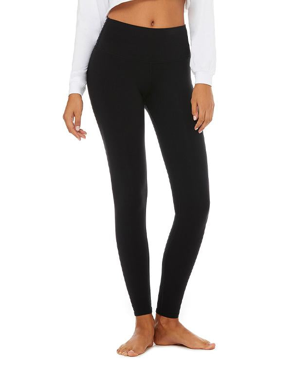 Bella Women's High-waist Fitness Leggings-BELLA CANVAS-Pacific Brandwear