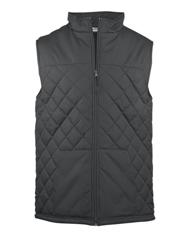 Women's Quilted Vest-Badger-Pacific Brandwear