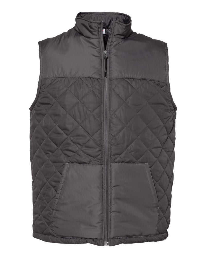 Quilted Vest-Badger-Pacific Brandwear