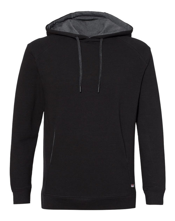 FitFlex French Terry Hooded Sweatshirt-Badger-Pacific Brandwear