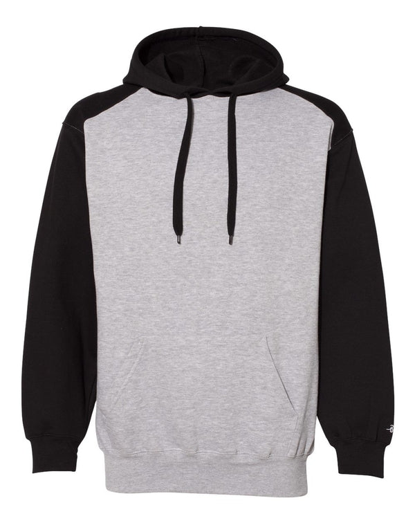 Sport Athletic Fleece Hooded Sweatshirt-Badger-Pacific Brandwear