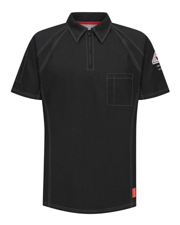 iQ Series Comfort Knit Short sleeve Polo-Bulwark-Pacific Brandwear