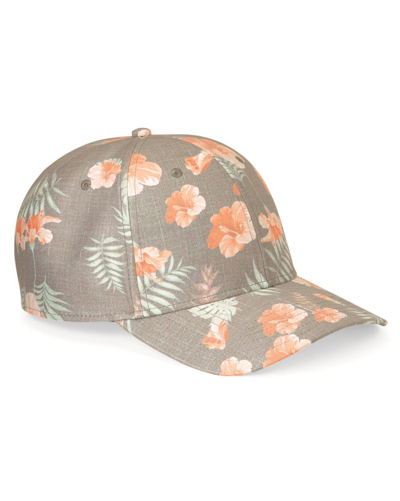Tropical Print Cap-Sportsman-Pacific Brandwear