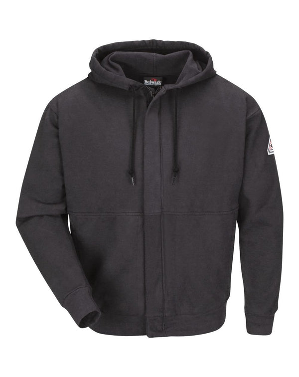Zip-Front Hooded Sweatshirt-Bulwark-Pacific Brandwear