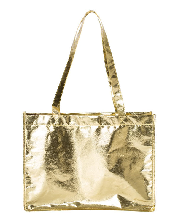 Metallic Large Tote-Liberty Bags-Pacific Brandwear