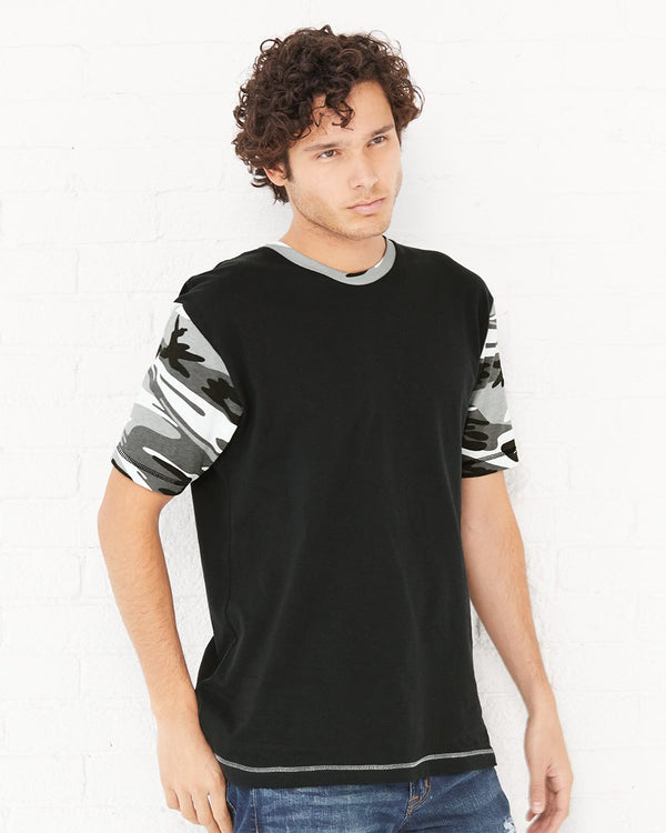 Fashion Camo T-Shirt-Code Five-Pacific Brandwear