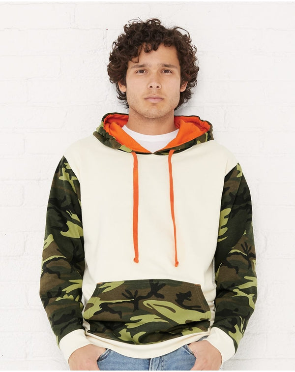 Fashion Camo Hooded SweatShirt-Code Five-Pacific Brandwear