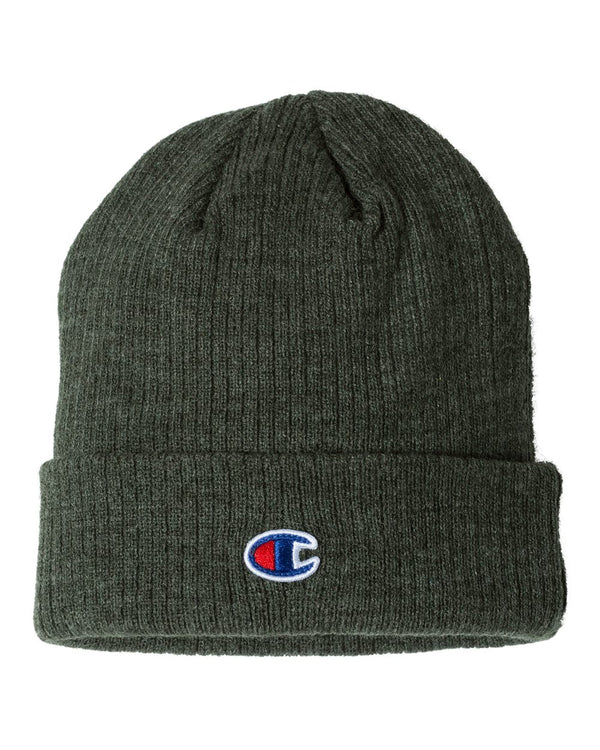 Ribbed Knit Cap-Champion-Pacific Brandwear