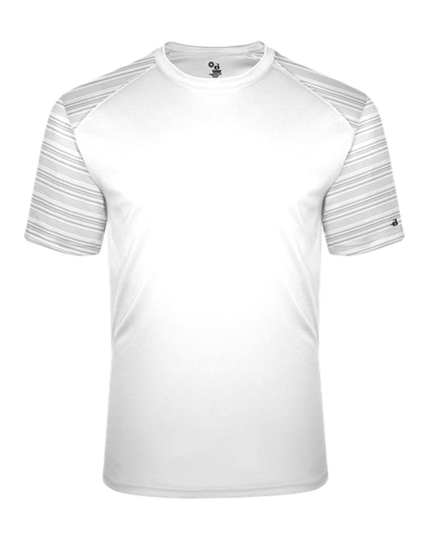 Youth Sport Stripe T-Shirt-Badger-Pacific Brandwear