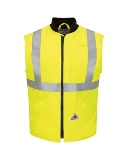 Hi Vis Insulated Vest with Reflective Trim - CoolTouch2-Bulwark-Pacific Brandwear