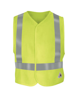 Hi-Visibility Flame-Resistant Safety Vest-Bulwark-Pacific Brandwear