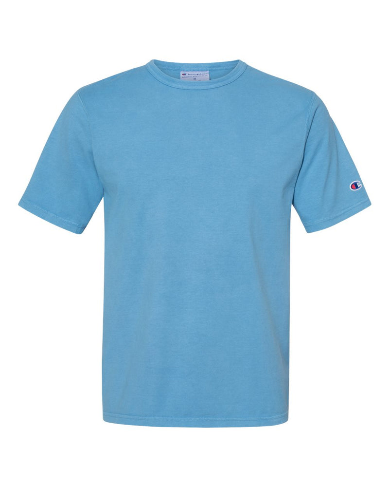 Garment Dyed Short sleeve T-Shirt-Champion-Pacific Brandwear