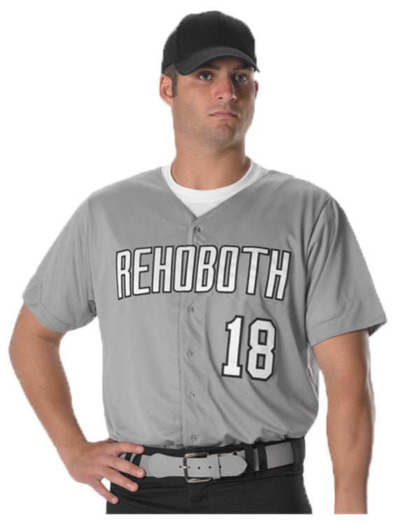 Full Button Lightweight Baseball Jersey-Alleson Athletic-Pacific Brandwear