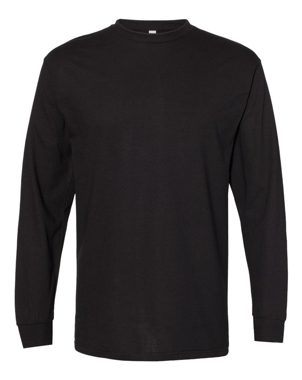Heavyweight Long sleeve T-Shirt-ALSTYLE-Pacific Brandwear