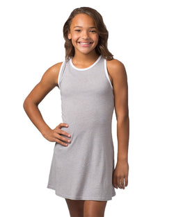 Girls' Ringer Dress-Boxercraft-Pacific Brandwear