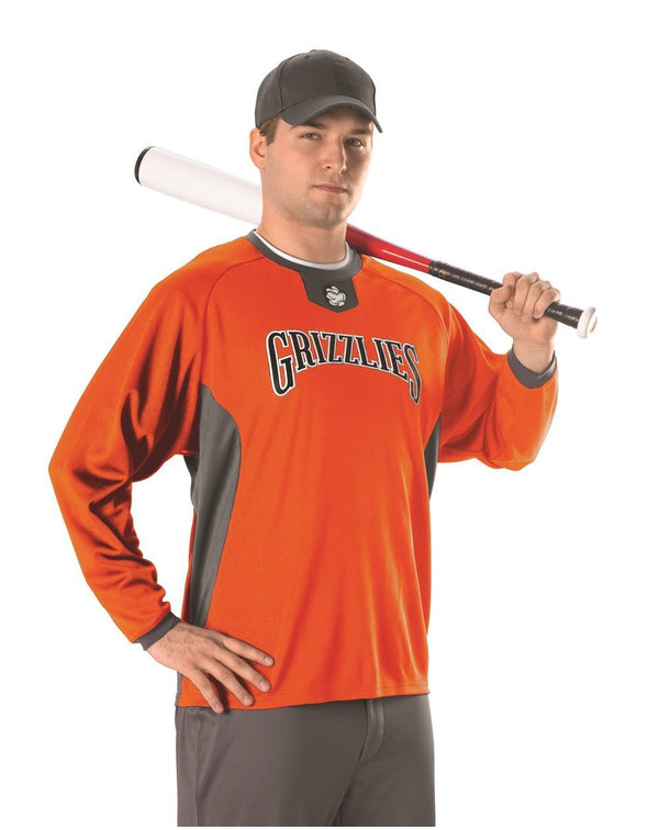 Long sleeve Pullover Practice Jersey-Alleson Athletic-Pacific Brandwear