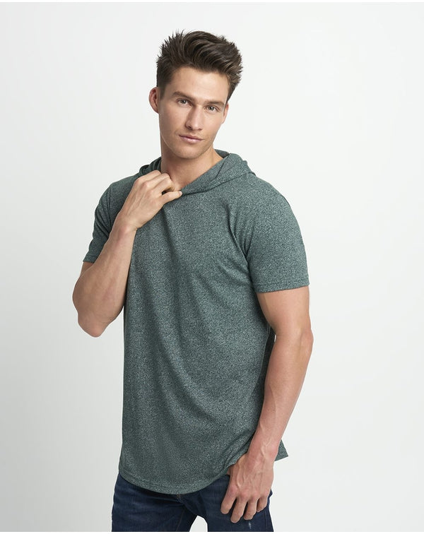 Mock Twist Short sleeve Hoodie-Next Level-Pacific Brandwear