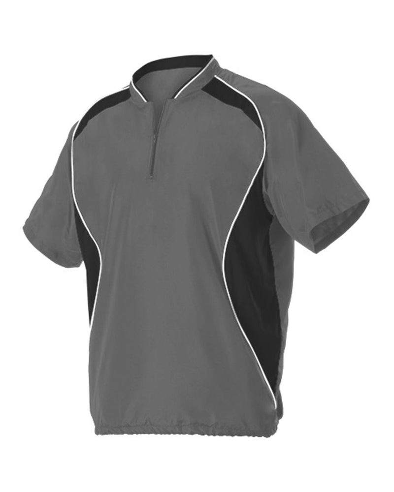 Short sleeve Baseball Batters Jacket-Alleson Athletic-Pacific Brandwear