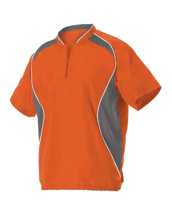 Youth Short sleeve Baseball Batters Jacket-Alleson Athletic-Pacific Brandwear