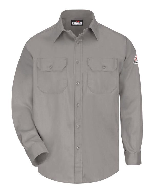 Uniform Shirt - Long Sizes-Bulwark-Pacific Brandwear