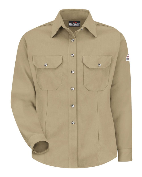 Women's Dress Uniform Shirt-Bulwark-Pacific Brandwear