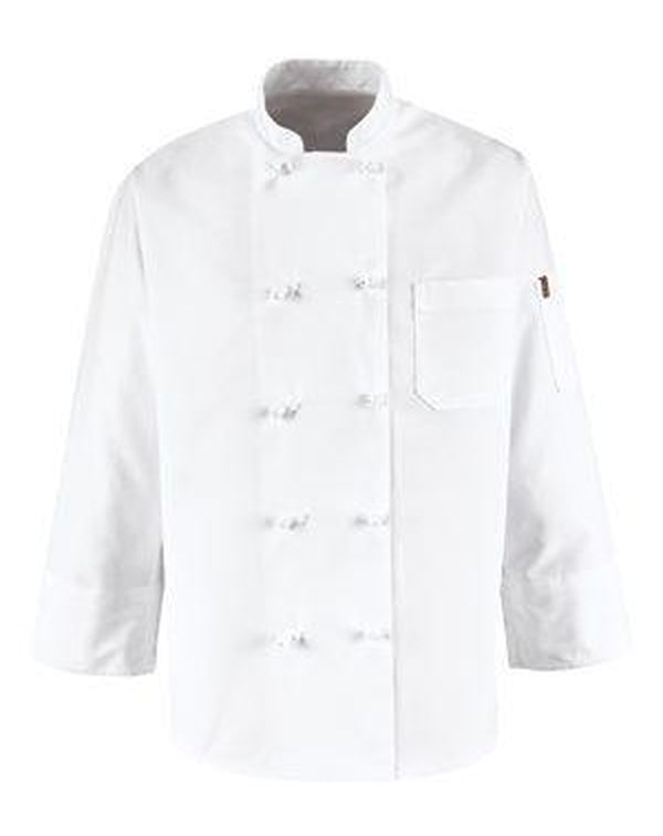 Ten Knot Button Chef Coat-Chef Designs-Pacific Brandwear