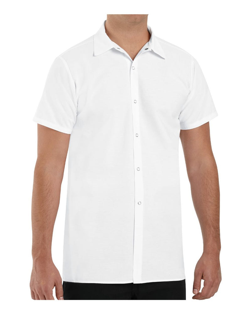 Poly/Cotton Cook Shirt Longer Length-Chef Designs-Pacific Brandwear
