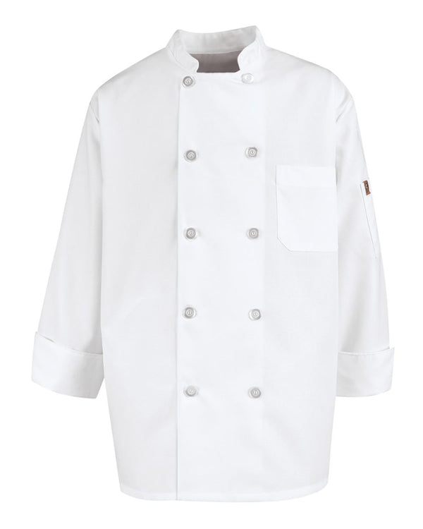 Vented Back Chef Coat-Chef Designs-Pacific Brandwear