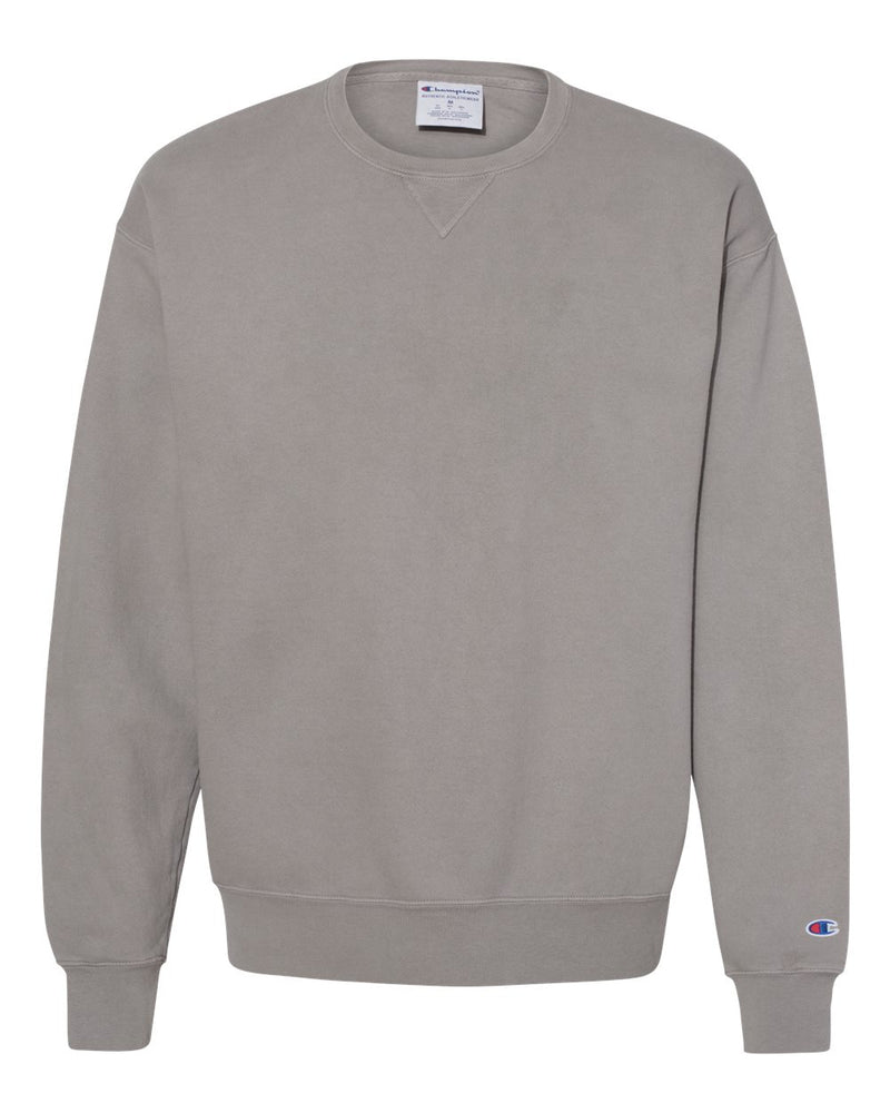 Garment Dyed Crewneck Sweatshirt-Champion-Pacific Brandwear