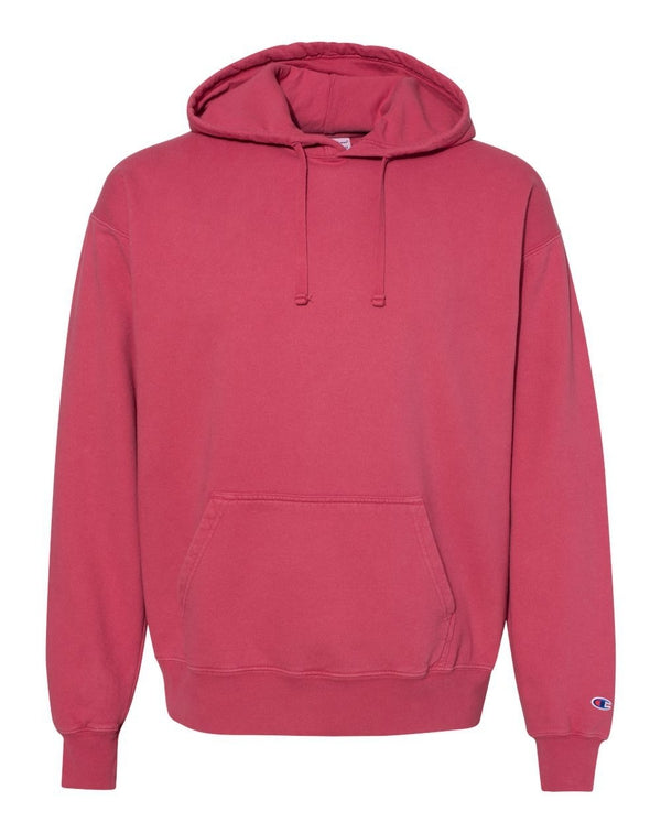 Garment Dyed Hooded SweatShirt-Champion-Pacific Brandwear