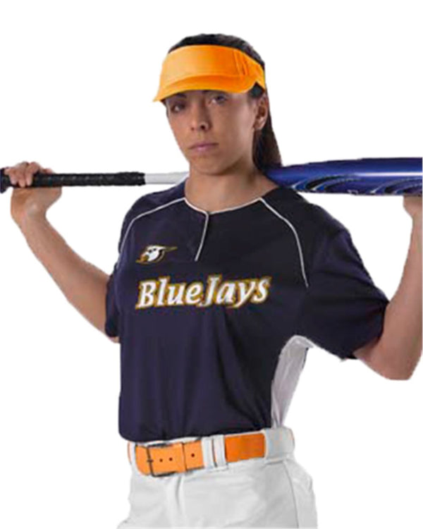 Women's Fastpitch 2 Button Jersey-Alleson Athletic-Pacific Brandwear