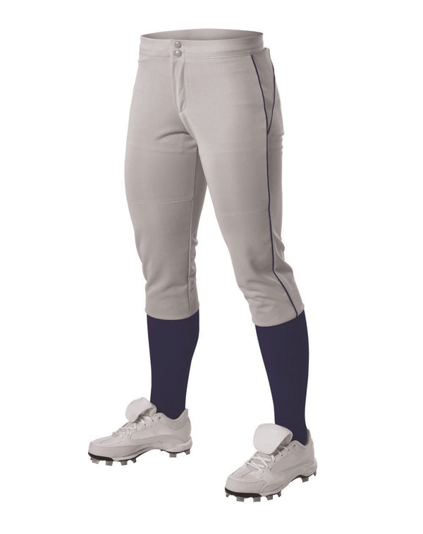 Girls' Belt Loop Fastpitch Pants-Alleson Athletic-Pacific Brandwear