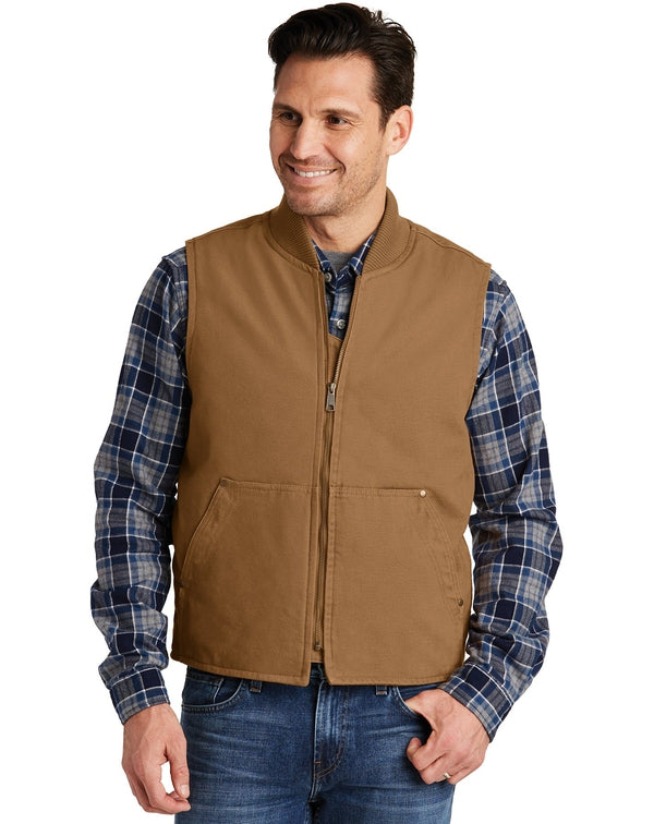 CornerStone®Washed Duck Cloth Vest-CornerStone-Pacific Brandwear
