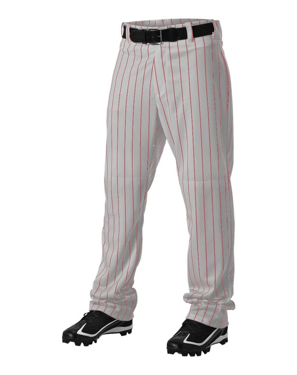 Pinstripe Baseball Pants-Alleson Athletic-Pacific Brandwear
