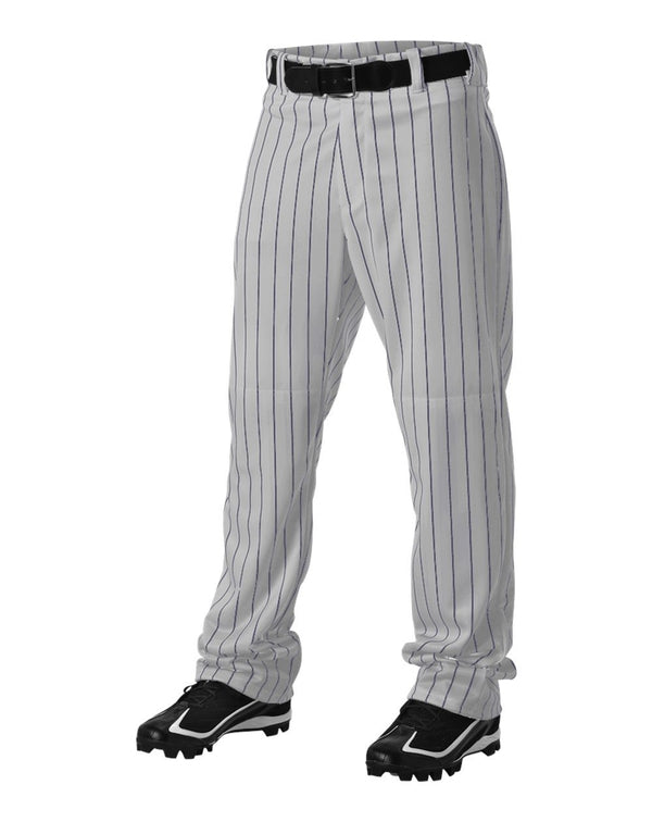Youth Pinstripe Baseball Pants-Alleson Athletic-Pacific Brandwear