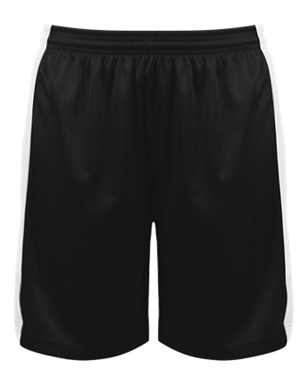 Women's Court Rev. Shorts-Badger-Pacific Brandwear