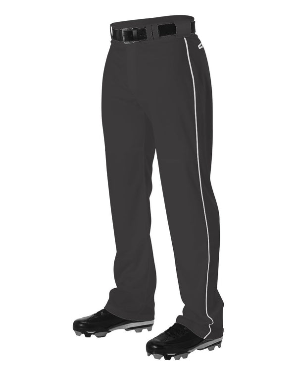 Warp Knit Baseball Pants With Side Braid-Alleson Athletic-Pacific Brandwear