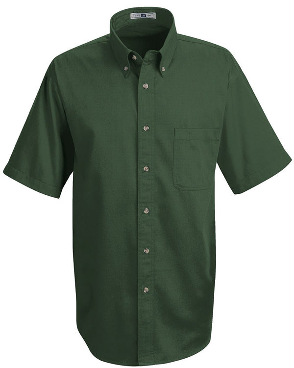 Meridian Short sleeve Performance Twill Shirt Long Sizes-Lee-Pacific Brandwear