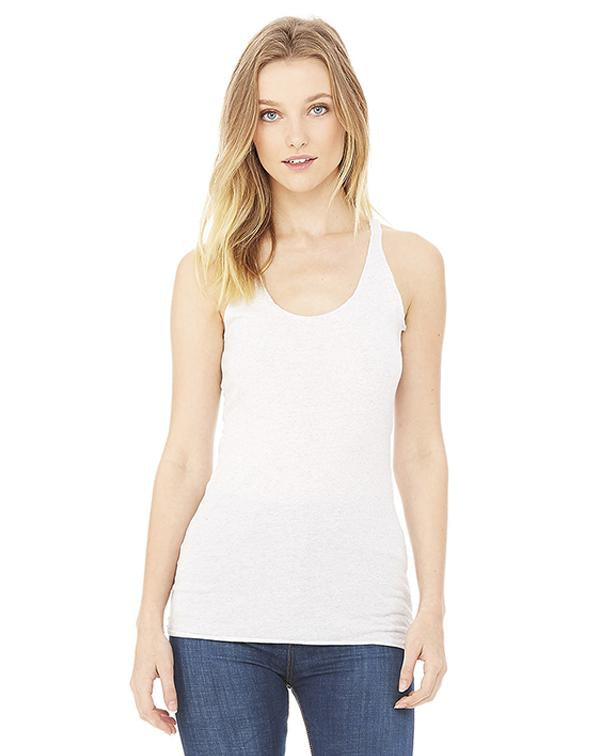 Bella Women's Triblend Racerback Tank-BELLA CANVAS-Pacific Brandwear