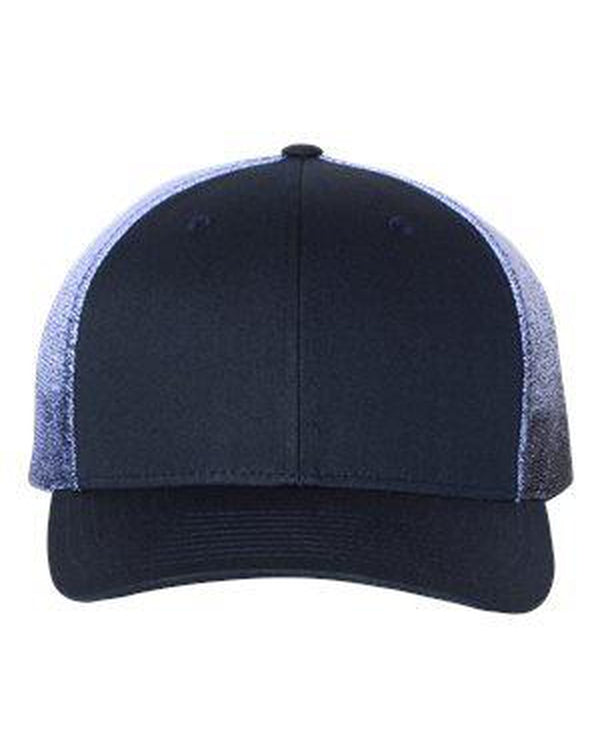 Printed Mesh-Back Trucker Cap-Richardson-Pacific Brandwear