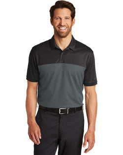 Nike Dri-FIT Colorblock Micro Pique Polo-Nike-Pacific Brandwear
